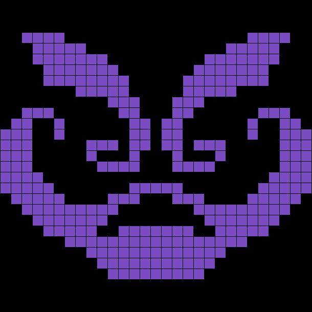 Rage Perler Bead Pattern / Bead Sprite