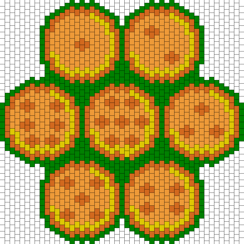 Dragon Ball Z Bead Pattern