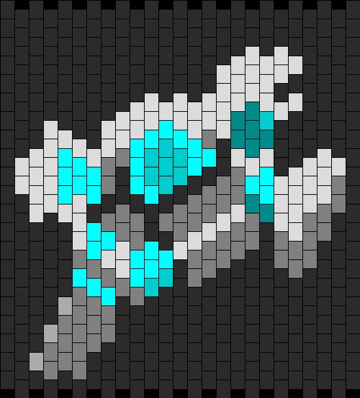 World Of Warcraft Priest Class Symbol  Bead Pattern