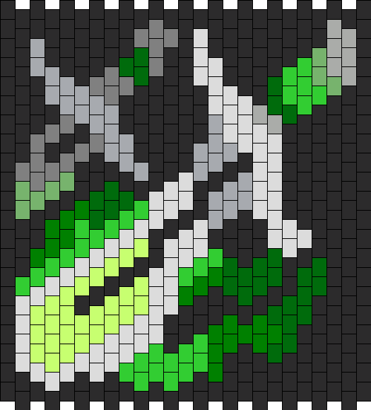 World Of Warcraft Rogue Class Symbol  Bead Pattern