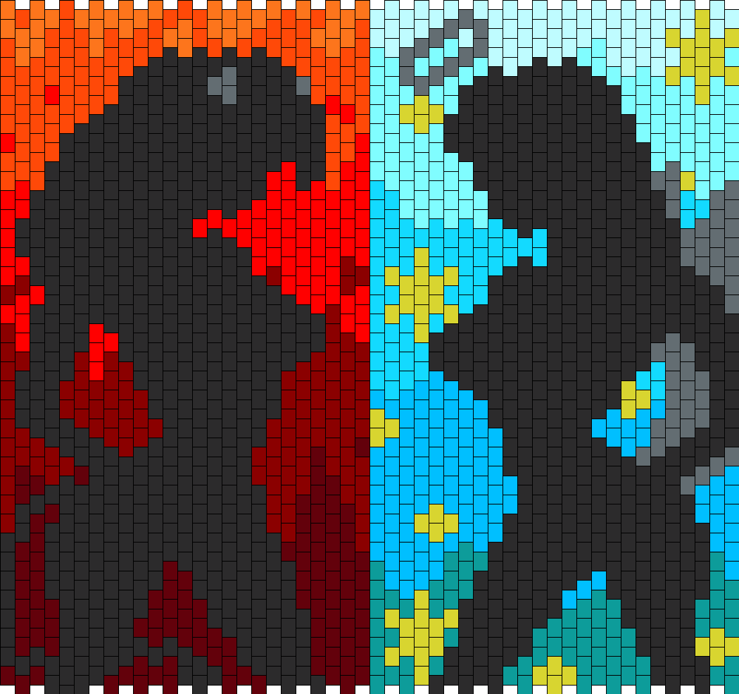Devil And Angel Silhouette