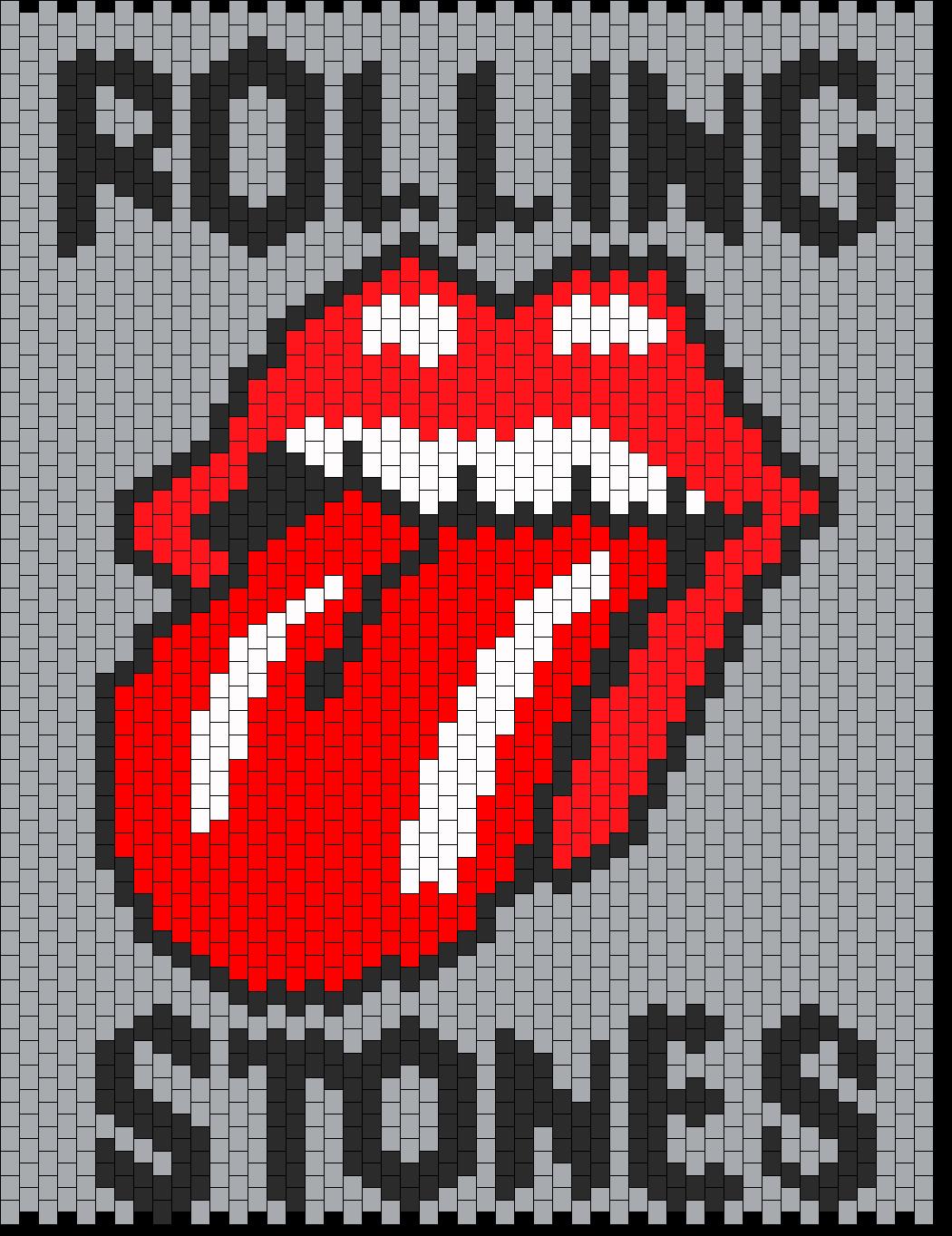 Rolling Stones Bead Pattern