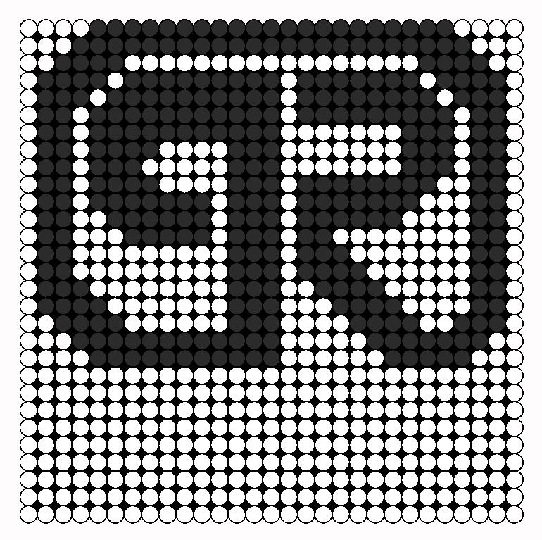 Porter Robinson  Perler Bead Pattern / Bead Sprite