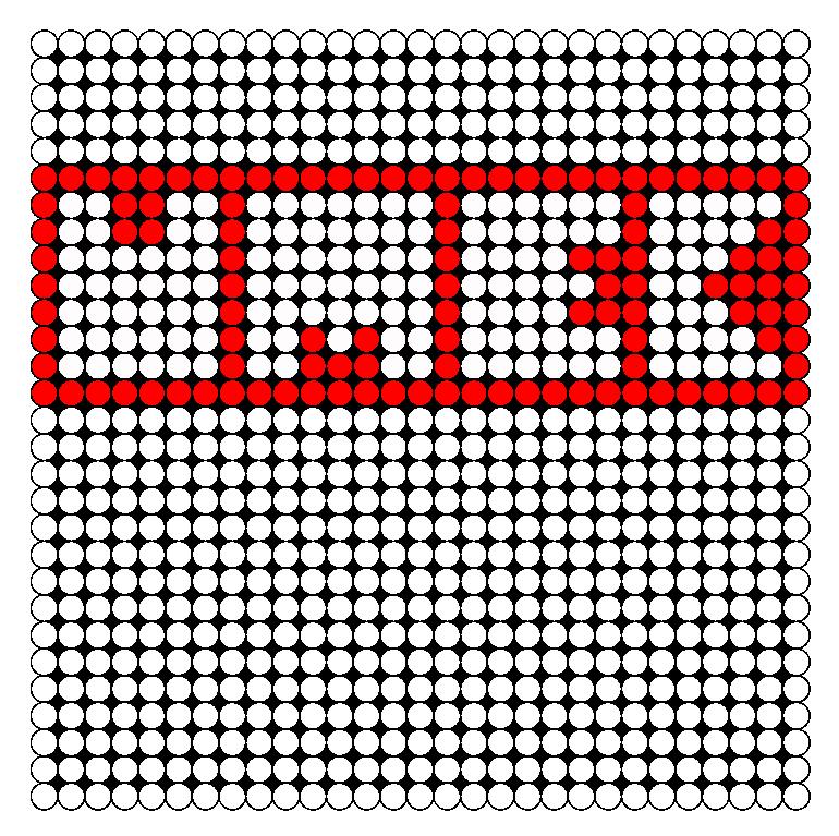 UMEK Perler Bead Pattern / Bead Sprite