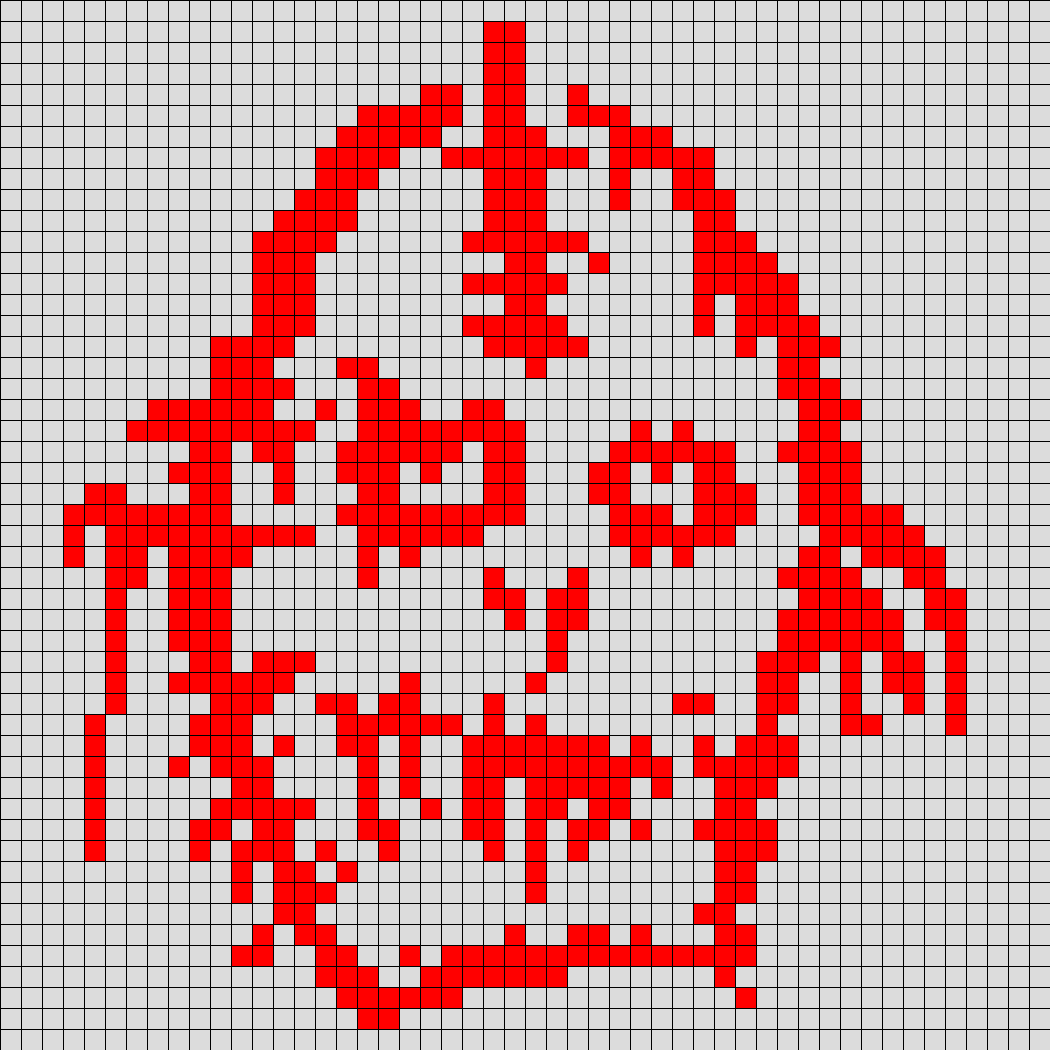 American Horror Story Asylum Bloody Face For Perler