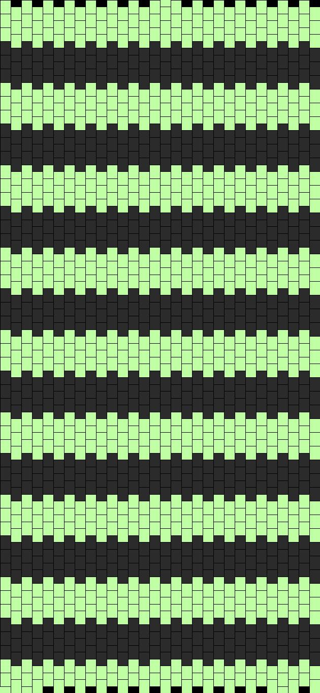 Skeleton Vest Side X2 Bead Pattern