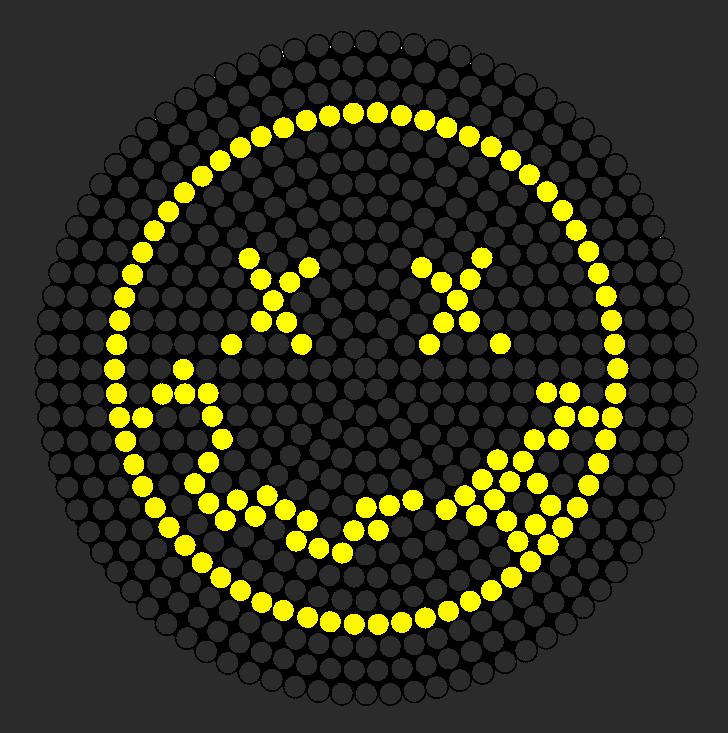 Nirvana Logo Perler Bead Pattern Bead Sprites Misc