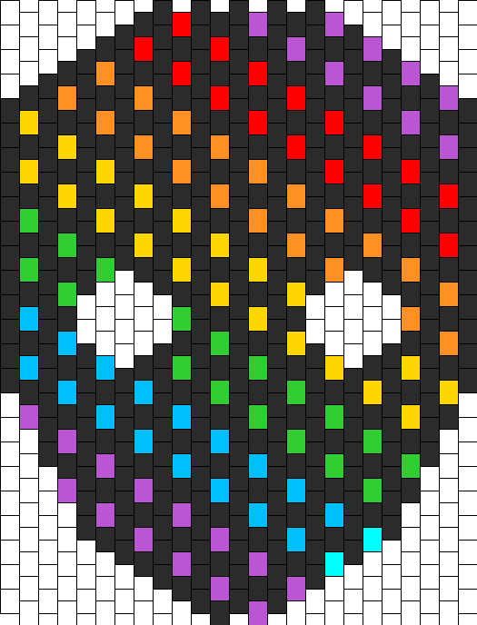 Rainbow Dot Mask