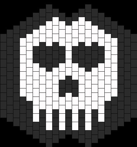 Large Skull Mask With Smaller Skull