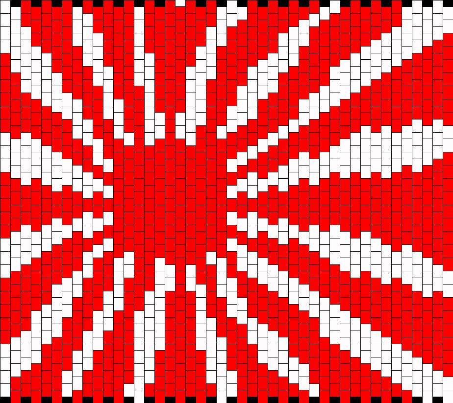Large Rising Sun Of Japan Bead Pattern