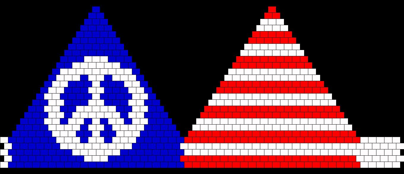 Peace Flag Bikini Size C