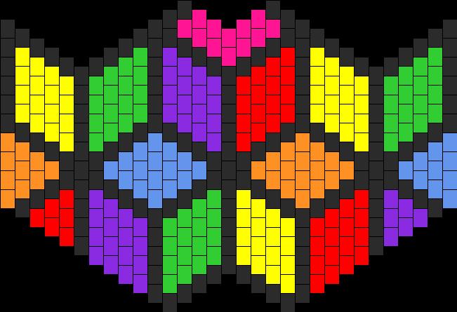Cubic Rainbow Flower