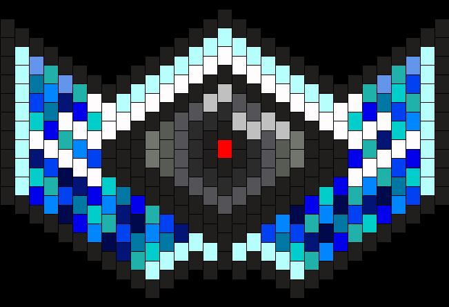 RadientBlueEye Mask