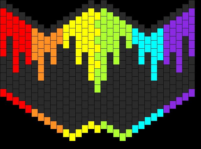 Rainbow Drip Drop