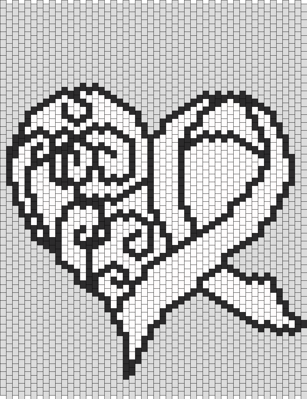 Blank Awareness Ribbon Heart