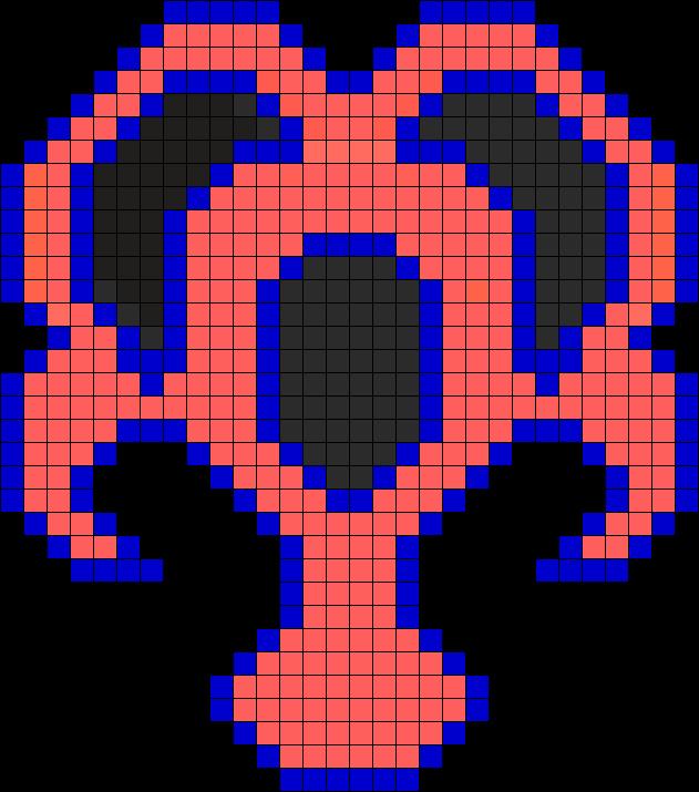 KH Dream Eater Perler Bead Pattern / Bead Sprite
