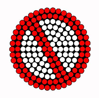No Perler Bead Pattern / Bead Sprite