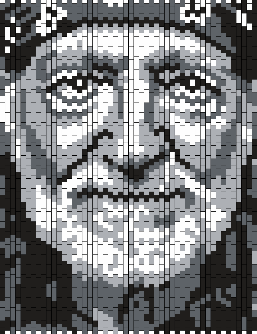 Willie Nelson (Multi) Bead Pattern