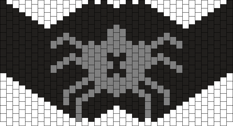 Spider Mask Bead Pattern