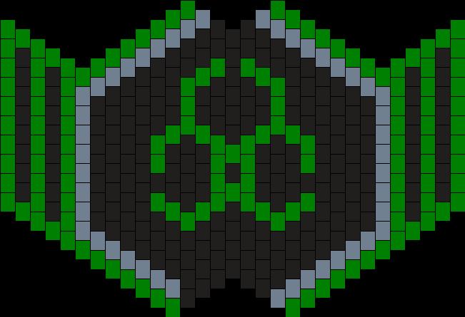Toxic Green Kandi Mask