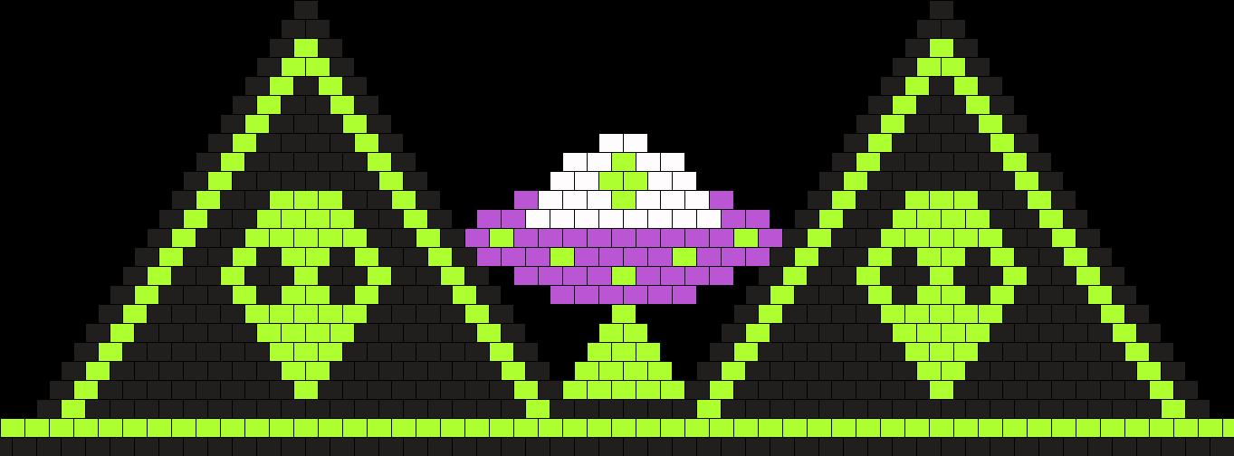 Alien Bikini Bead Pattern