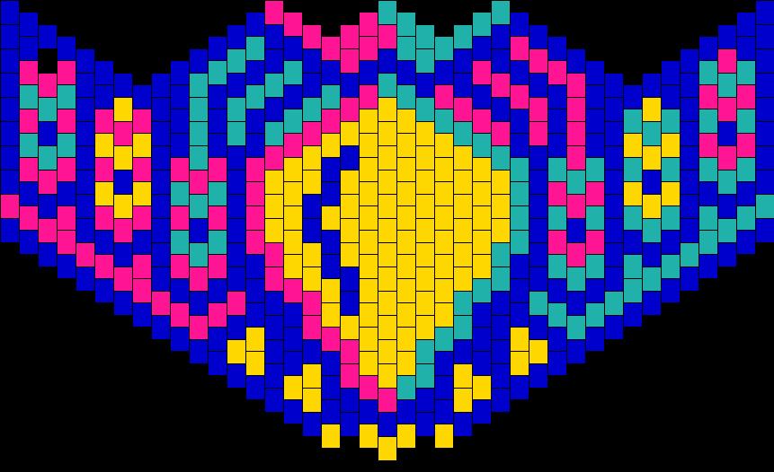 Hoot Mask Bead Pattern