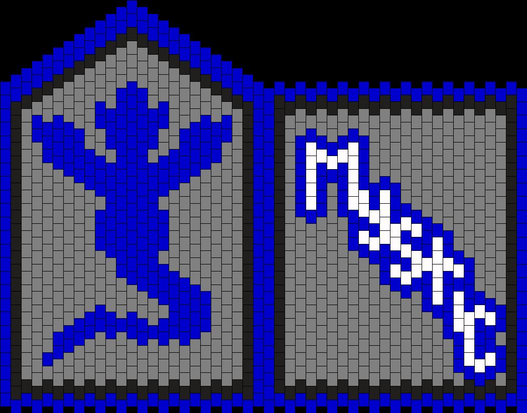 Team Mystic Purse Bead Pattern