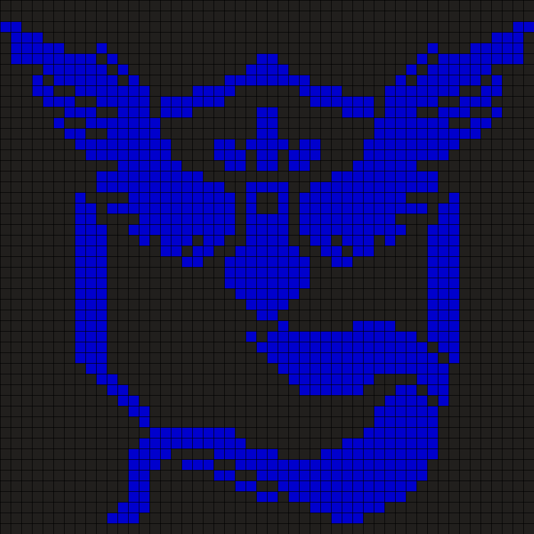 Pokemon Team Mystic Perler Bead Pattern / Bead Sprite