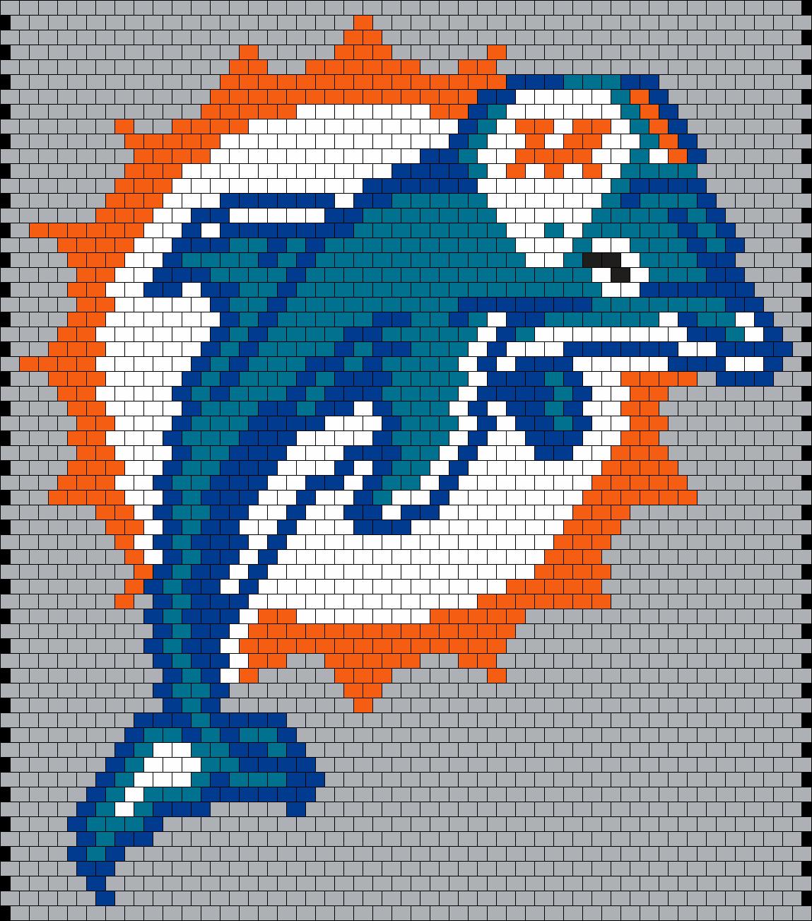 Miami Dolphins Logo (peyote)