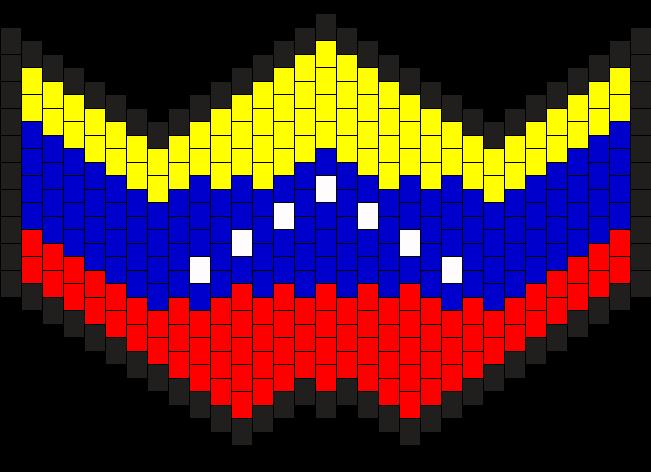 Venezuela Kandi Mask