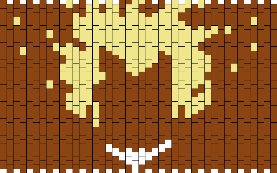 Overwatch Junkrat Icon Bead Pattern
