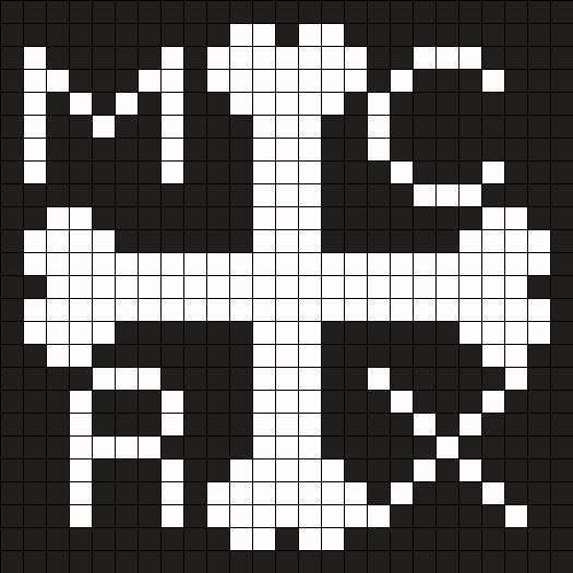 MCRX  Perler Bead Pattern / Bead Sprite