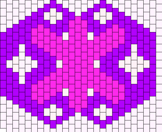 TwilightSparkle Mask Bead Pattern