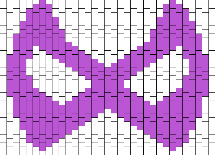 Hawkeye Mask Bead Pattern