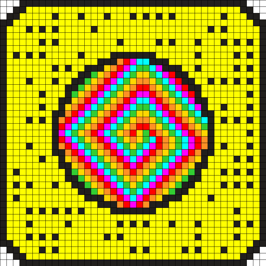 Rainbow Swirls Snapcode