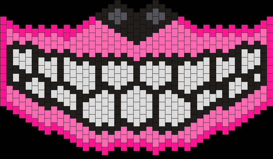 Pink Smile Mask