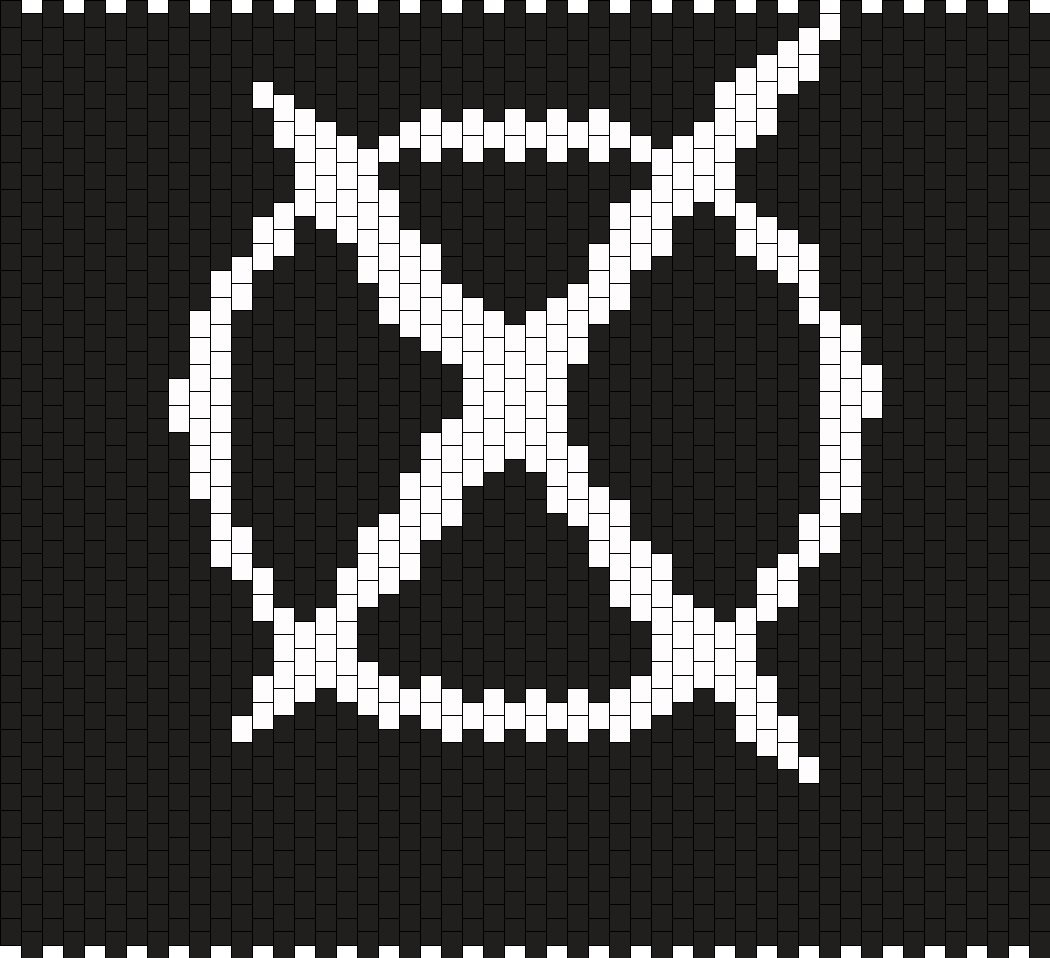Icon For Hire Backpack Panel 1 Bead Pattern