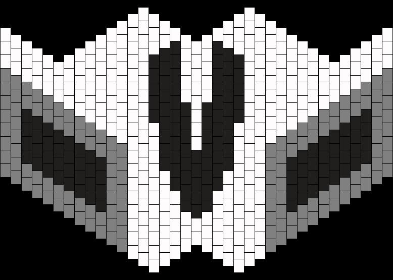 Reaper Mask Bead Pattern