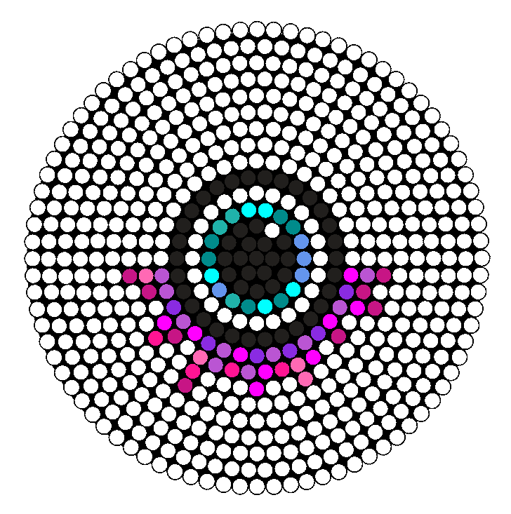 Drippy Eye Perler Perler Bead Pattern / Bead Sprite