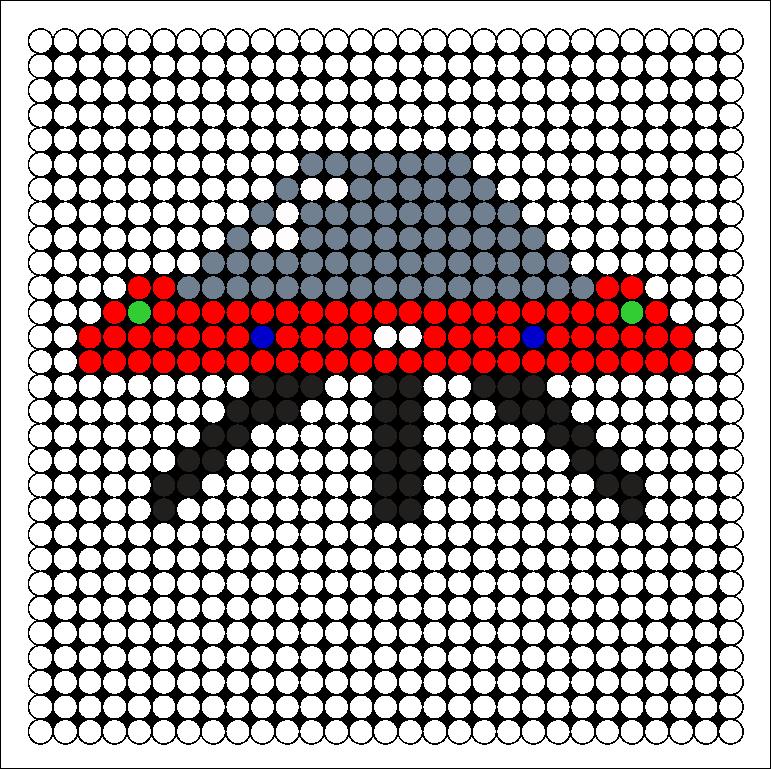 UFO Perler