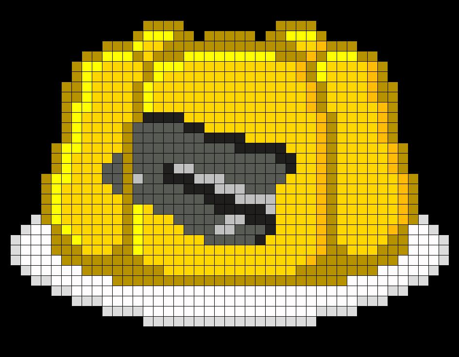 Stapler In Jello Perler Bead Pattern / Bead Sprite