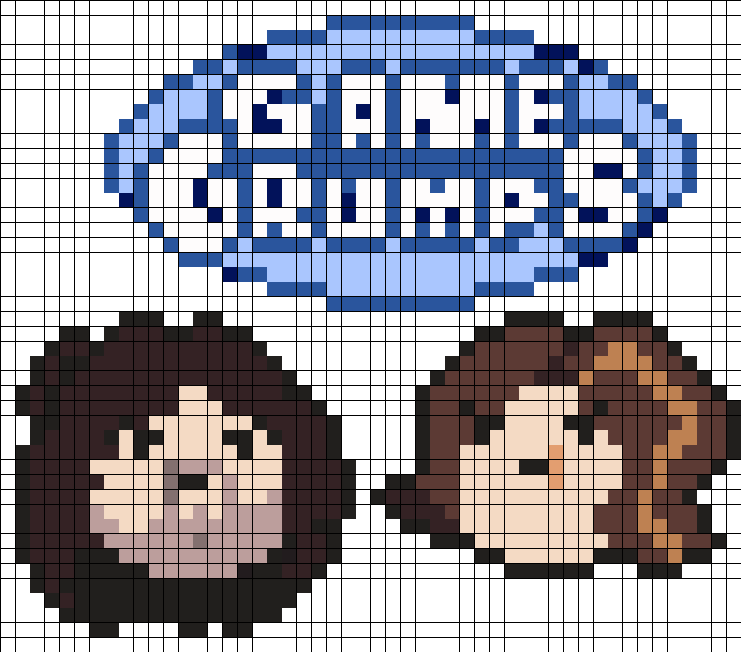Game Grumps Perler Set