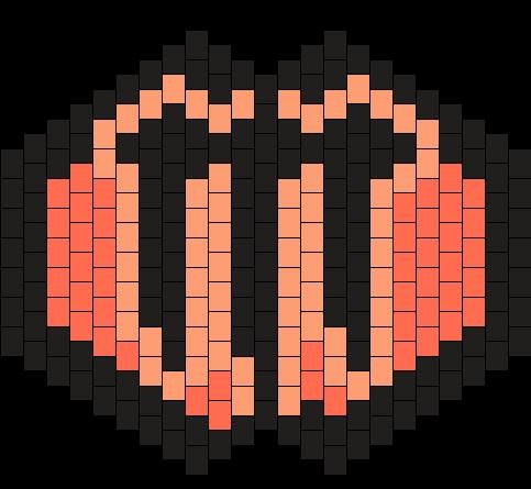 Monster Rehab Mask Bead Pattern