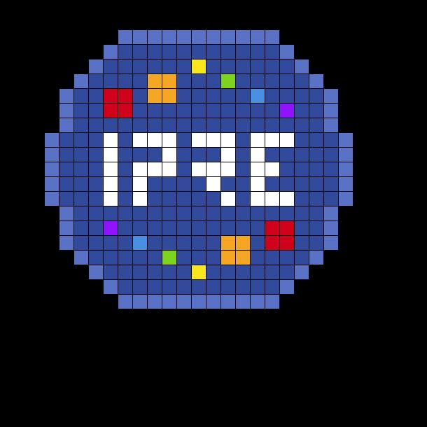 TAZ Balance IPRE Badge Perler