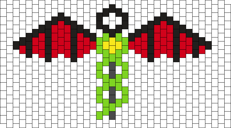 Motley Crue Dr Feelgood Logo Simple Kandi Pattern