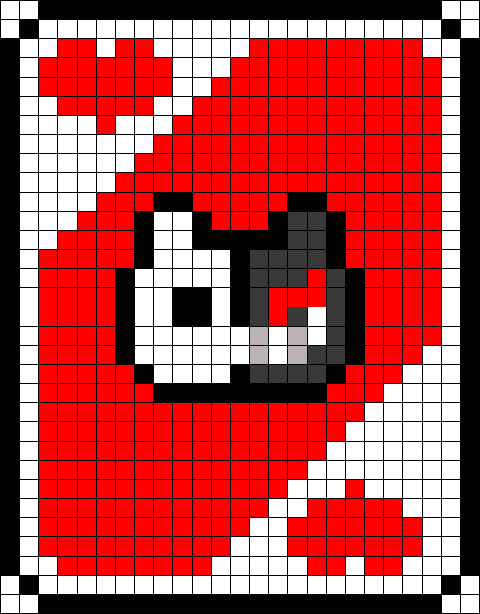 Monokuma Pixel Card