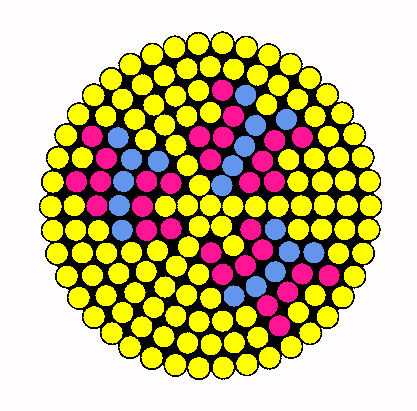 Coaster Fluttershy Perler Bead Pattern / Bead Sprite