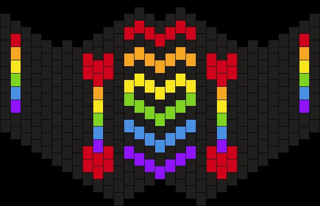 Rainbow Sub Zero Mask