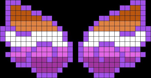 Lesbian Chibi Angel Wings