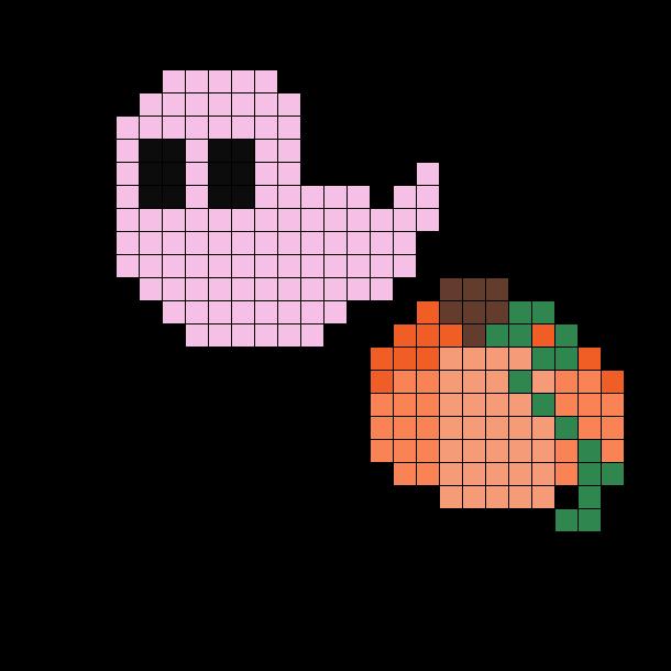 Pink Halloween Ghost And Pumpkin